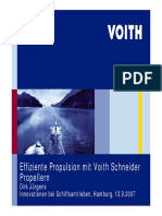 Efficient Propulsion With Voith Schneider Propelle ;r Dirk Jürgens Hamburg, 13.9.2007