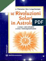 Le Rivoluzioni Solari in Astrologia Marie Therese Des Longchamps