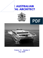 Australian Naval Architect magazine