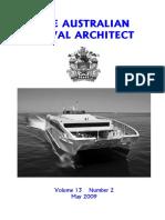 Australian Naval Architect magazine