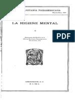 La Higiene Mental