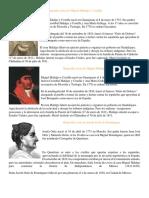 Biografía Corta de Miguel Hidalgo y Costilla