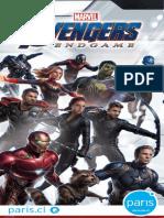 Catalogo Avengers Paris