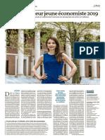 Le Monde du 14 mai 2019 page 16 et 17