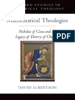 [Oxford Studies in Historical Theology] David Albertson - Mathematical Theologies_ Nicholas of Cusa and the Legacy of Thierry of Chartres (2014, Oxford University Press).pdf
