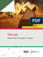 Otra Vez - Noemí Escandell - Rozarte