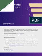 Relatório Mensal de Marketing Digital 2018