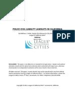 Police Civil Liability Paper FINAL
