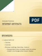 Internet Artifacts