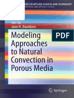 Modeling Approaches to Natural Convection in Porous Media