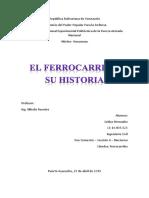 Historia del ferrocarril