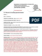F/V Masonic situation report