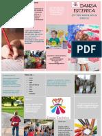 Brochure Danza