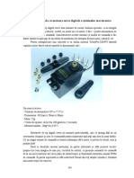 Programare unui motor Servo