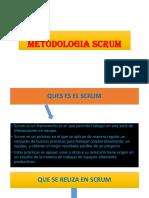 Metodologia Scrum Diapocitivas Nuevas