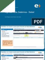 Guía Rápida Ingreso de Fallas Sistémicas y Problemas de Clientes en Siebel