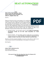 Solar Offer to DMSF