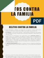 Delitos Contra La Familia - 27.04.19