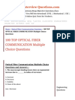 100 TOP OPTICAL FIBER COMMUNICATION Multiple Choice Questions Optical Fiber Communication Questions.pdf
