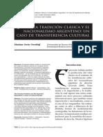 Dialnet-LaTradicionClasicaYElNacionalismoArgentino-6373661