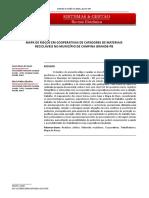 MAPA DE RISCOS EM COOPERATIVAS DE CATADORES DE MATERIAIS RECICLÁVEIS NO MUNICÍPIO DE CAMPINA GRANDE-PB