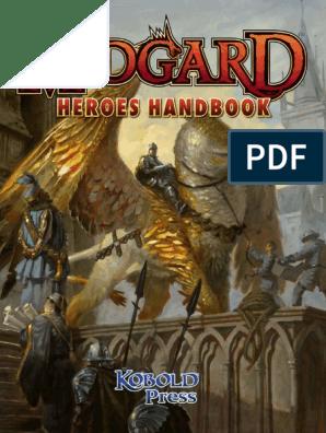 Midgard Heroes Handbook pdf | Dwarf (Dungeons & Dragons