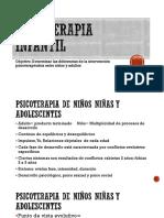 Psicoterapia Infantil 29 04 2019