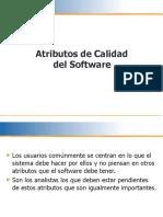 Atributos de Calidad del Software