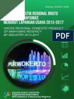 Produk Domestik Regional Bruto Kabupaten Banyumas Menurut Lapangan Usaha 2013-2017.pdf