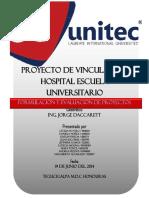 Informe Final Proyecto Ejecutado Unitec Junio 2014