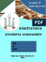 Soal elektrolisis