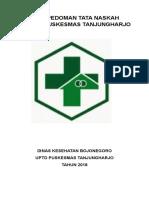 TATA NASKAH PUSKESMAS TANJUNGHARJO 2018 (Repaired).doc