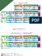 Secundaria x Encuentro Calendario 2019