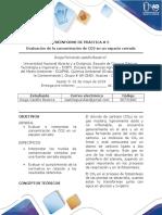 Quimica Ambiental Preinforme practica 5, 6 y 7