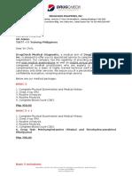 Medical Diagnostic Proposal