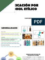 intoxicacion por alcohol etilico y metilico