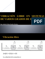 16. vibraci�n libre vgdl