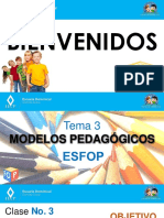 Modelos Pedgógicos Esfop - Virtual