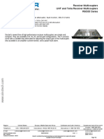 Rx3852-3408-31- Rfi Rx Multicoupler Uhf 380-520mhz