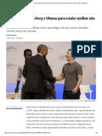 O Truque de Zuckerberg e Obama Para Render Melhor Não Tem Fundamento _ Ciência _ EL PAÍS Brasil