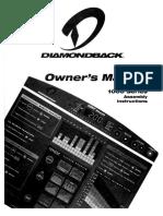 Diamondback 1000 Series Exercise Bike Manual