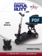 Mini Rider Folding User Manual