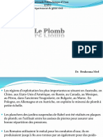 3-Le plomb