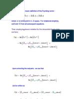 Time Avg Poynting Vector Derivation