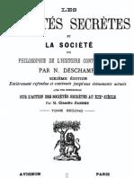 Les sociétés secrètes et la société (tome 2)