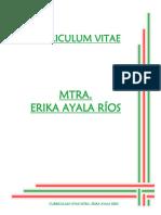 CV Erika Ayala Rios