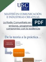 Presentacion Radio Comunitaria