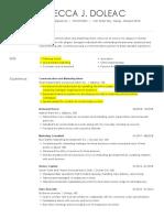 Resume - Doleac