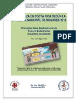 La Pobreza en Costa Rica Según La Enaho 2018