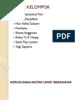KERUKUNAN ANTAR UMAT BERAGAMA klp dut.pptx